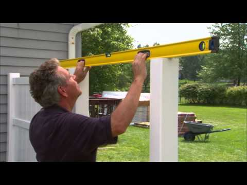 Vinyl Fence Installation Tips: Attaching the Gate