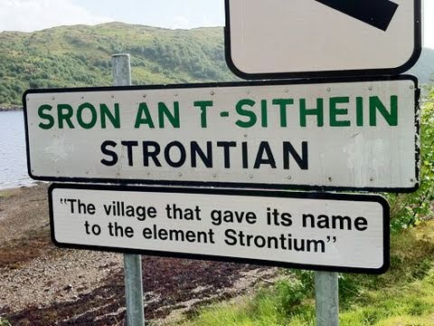 Strontian preview - Periodic Table of Videos