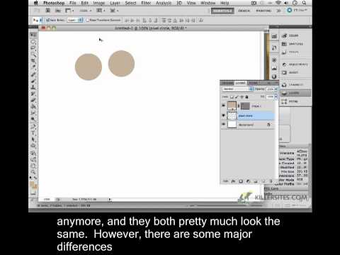 Photoshop CS5 Closed Captioned - Introduction To Vector Tools