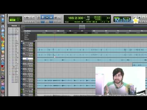 Selecting  Multiple Tracks - Pro Tools 9