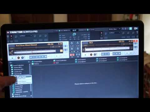 Traktor Scratch Pro. video 13. Playlist managemant 1