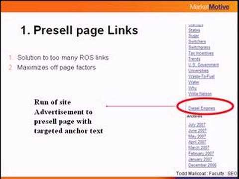 Search Engine Optimization: 12 Link Types