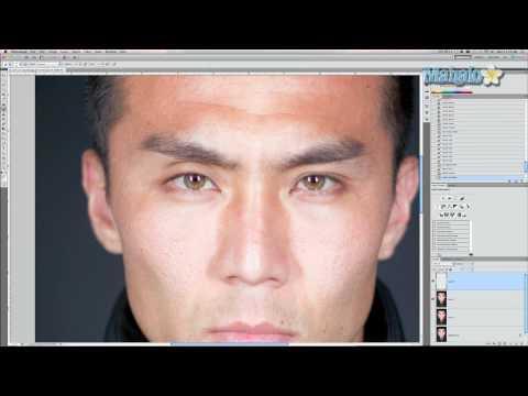Photoshop Tutorial - Enhancing Eyebrows