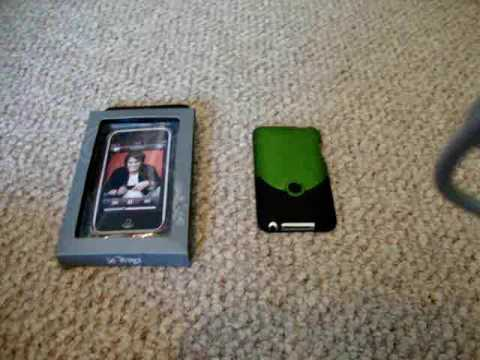 Neon Green iFrogz Luxe Case for iPod Touch 2G - Very good protection
