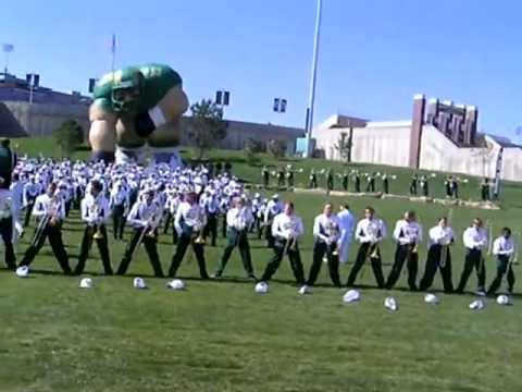 Trombone Maneuver and University Marching Band