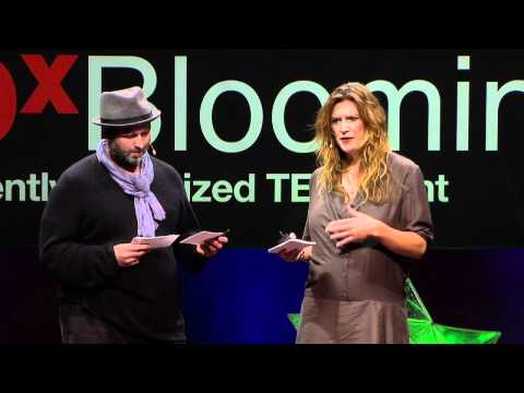 "TEDxBloomington -- Marc and Sara Schiller -- ""Gaming The Streets: Uncommissioned Art"""