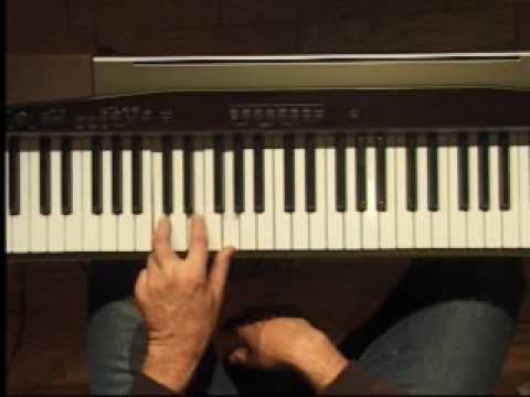 Piano Lesson - Three Note Chords in C (Left Hand)