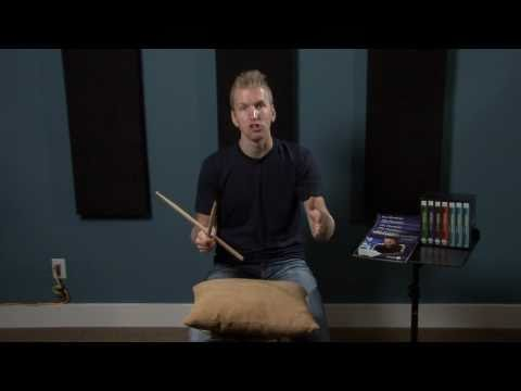 Practicing On A Pillow - Drum Lesson