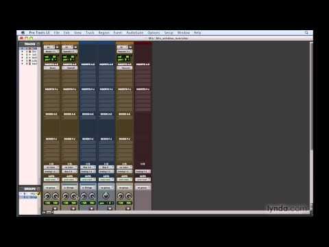 Pro Tools: Exploring the Mix window | lynda.com