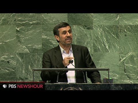 Watch Iranian President Mahmoud Ahmadinejad's Address to U.N.