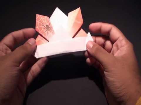 Origami Daily - 004: Kabuto Samurai Helmet - TCGames [HD]