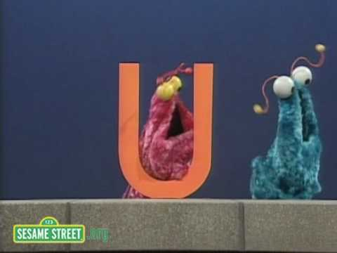Sesame Street: Letter U With the Martians