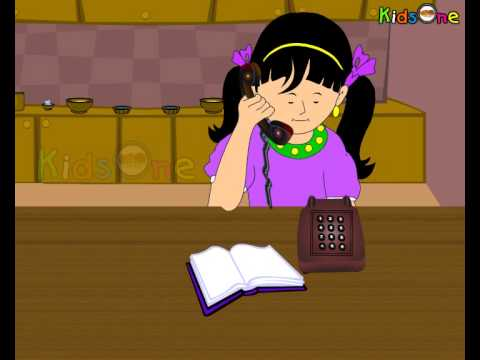 Telephone - Animated Nursery Rhymes