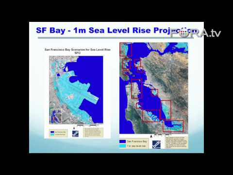 What if San Francisco Bay Rose by One Meter? Sayonara SFO