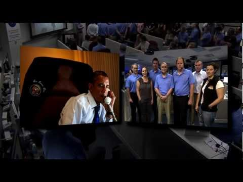 President Praises Curiosity Team on This Week @NASA