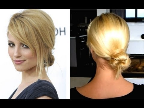 Quick Low Bun Hairstyle