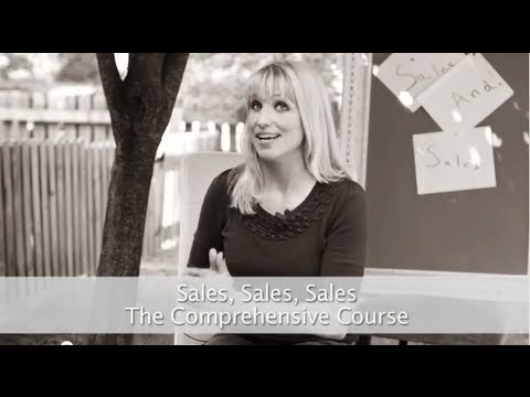 Sales, Sales, Sales. The Comprehensive Course with Tamara Lackey.