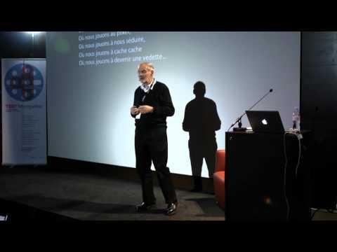 TEDxMontpellier - Henri Kaufman -  Vies IRL et vies URL confondues