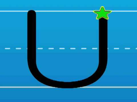 Print the Letter U with Hooked on Phonics Learn to Read