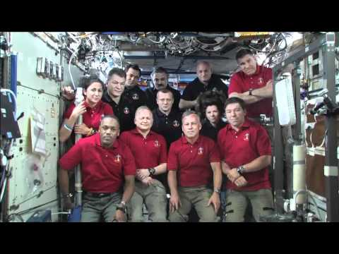President's Phone Call Tops Crew's Flight Day 8