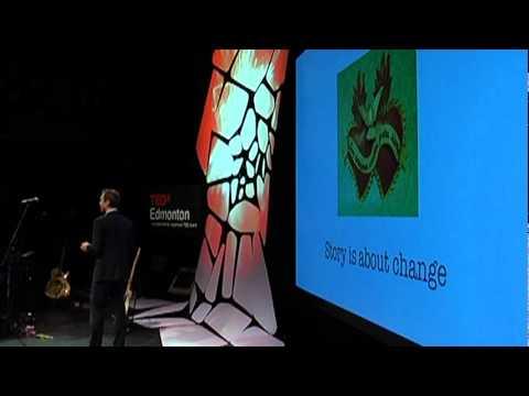 TEDxEdmonton - Todd Babiak - Tell Me a Story