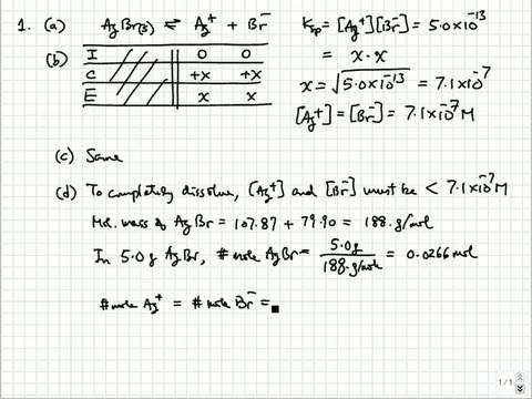 Solutions to 2009 (B) AP Chemistry Exam Free Response Questions  College & AP Chemistry Solutions 12