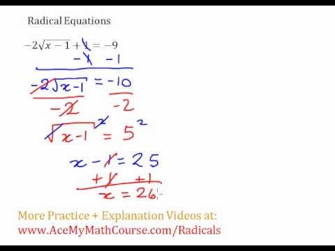 Radical Equation #5
