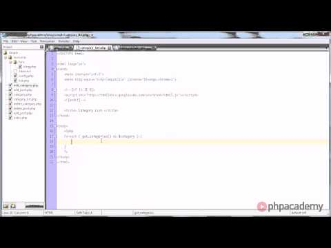 PHP Tutorials: Creating a Blog (Part 5/11)