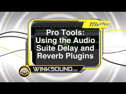 Pro Tools: Using the Audio Suite Delay and Reverb Plugins | WinkSound