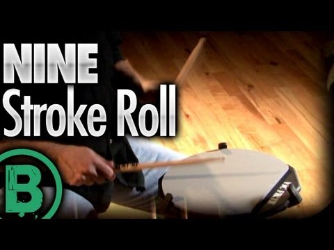 Nine Stroke Roll - Drum Rudiment Lessons
