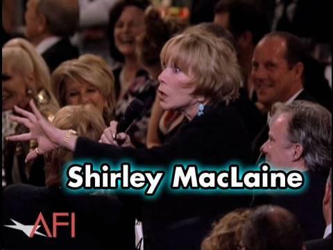 Shirley MacLaine Salutes Mike Nichols at the AFI Life Achievement Award