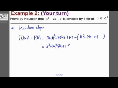 Proof by Induction - Divisbility FP1 (2) Edexcel Maths A-Level