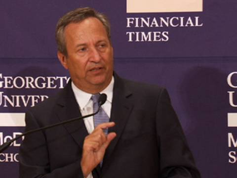No Such Thing as 'Too Big to Fail'? - Larry Summers