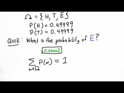 Probability Review Pt 1 Solution - CS387 Unit 1 - Udacity