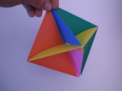 Origami executive toy