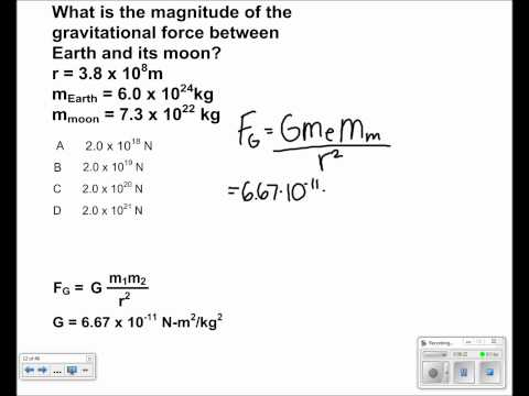Universal Gravitation Presentation #05