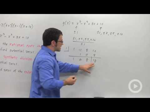Precalculus - Finding Zeros of a Polynomial Function