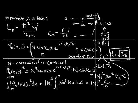 Quantum Mechanics 015 : A particle in a box (part 1)