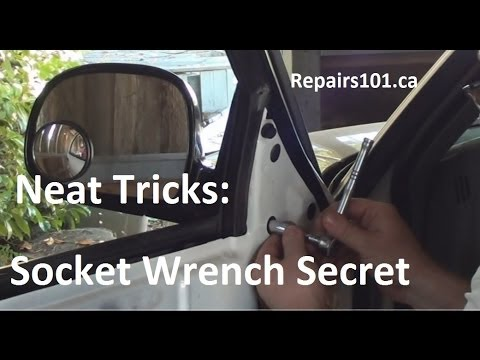 Neat Tricks: Socket Wrench Secret