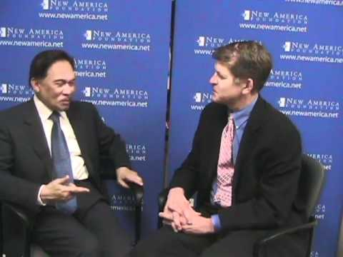 Steve Clemons Interviews His Excellency Anwar Ibrahim - 02.10.11