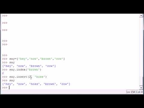 Python Programming Tutorial - 15 - More Methods