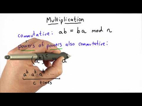 Properties Of Multiplication - CS387 Unit 3 - Udacity