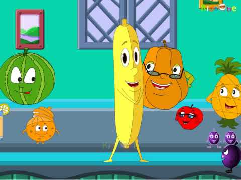 Na Peru Arati Pandu - Banana - Telugu Animated Rhymes