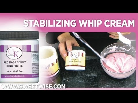 Stabilizing Whip Cream