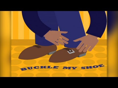 One, Two, Buckle My Shoe Animated (SD)