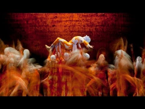 The Rite of Spring rehearsal (The Royal Ballet)
