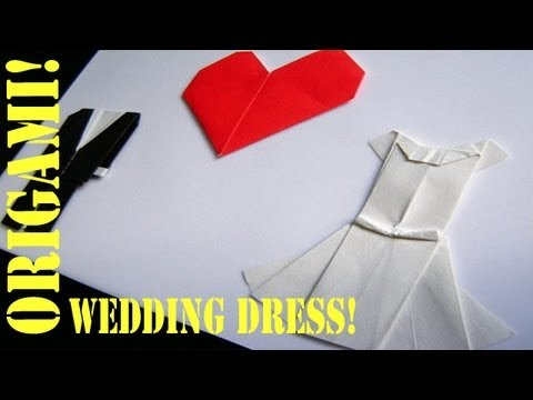Origami Daily - 306: Wedding Dress - TCGames [HD]