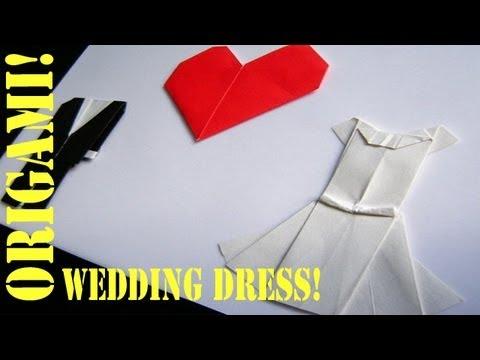 Origami Daily - 306: Wedding Dress - TCGames [HD]
