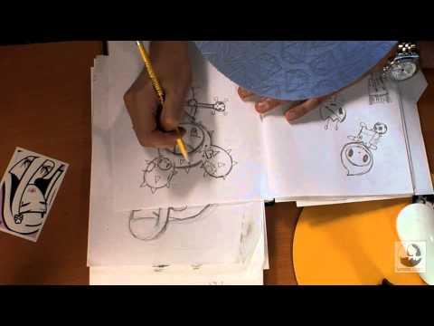 Simone's Sketchbook: Cactus Rocker | lynda.com
