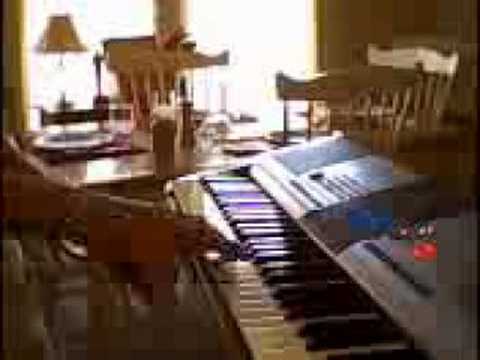 Runaway By Bon Jovi on my Yamaha Keyboard
